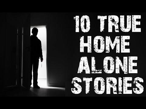 10 TRUE Dark & Disturbing Home Alone Horror Stories | (Scary Stories)