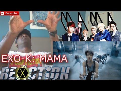 EXO-K MAMA Music Video (Korean ver.) REACTION!!!