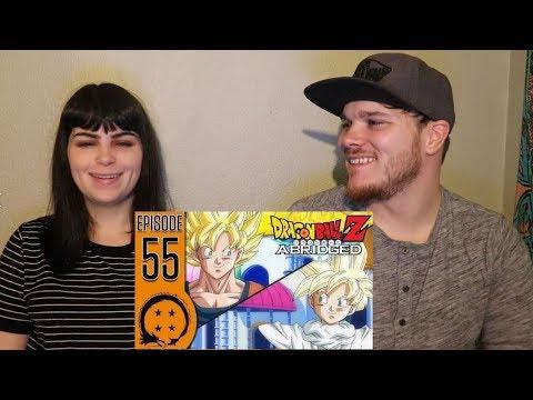 DragonBall Z Abridged episode 55 Reaction.