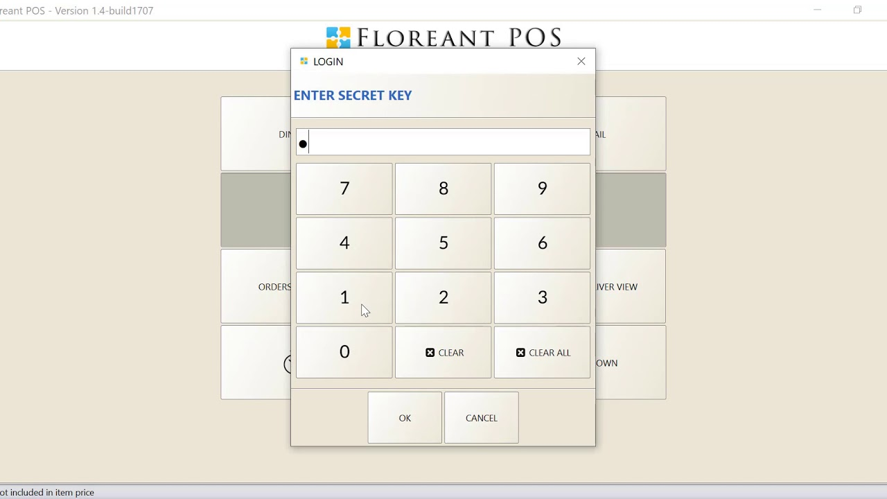 Floreant POS Delivery Driver Assign at Back Office and Front End