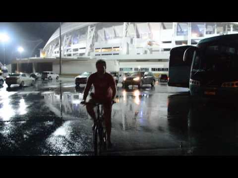 Велосипед в Олимпийском парке