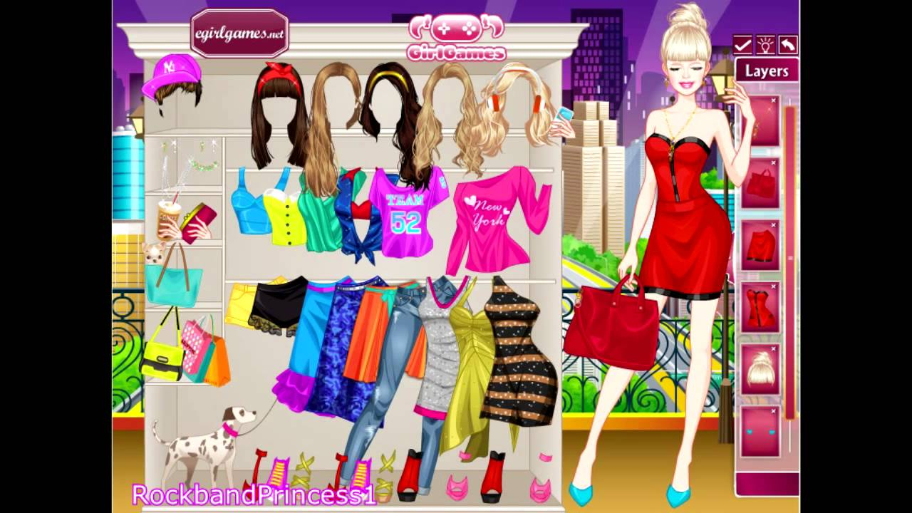 new yorker barbie dress up game barbie games for girls to play youtube. Black Bedroom Furniture Sets. Home Design Ideas