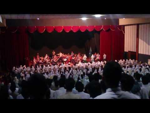 dirgahayu indonesiaku paduan suara orkestra