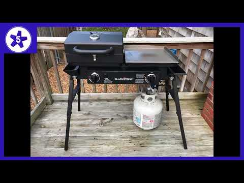 Blackstone Grills Tailgater - Portable Gas Grill And Griddle Combo Review