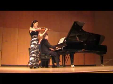 Kyung Sun Lee playing Brahms Scherzo in C minor