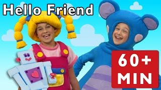 Hello Friend and More | Nursery Rhymes from Mother Goose Club!