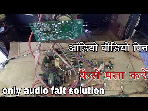 Tv Blue Or Black Screen No Video Only Audio Falt Solution.