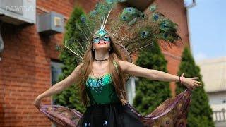 Свадьба в Украинском стиле с павлинами, видеосъемка Харьков
