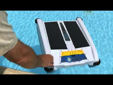 Thumbnail: Solar-Breeze Floating Pool Skimmer Robot from Solar-Breeze