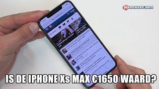 Apple iPhone Xs Max review: 1650 euro voor een smartphone?!