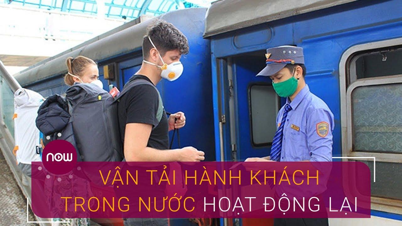 Ngày 8/5: Vận tải hành khách trong nước trở lại bình thường | VTC Now