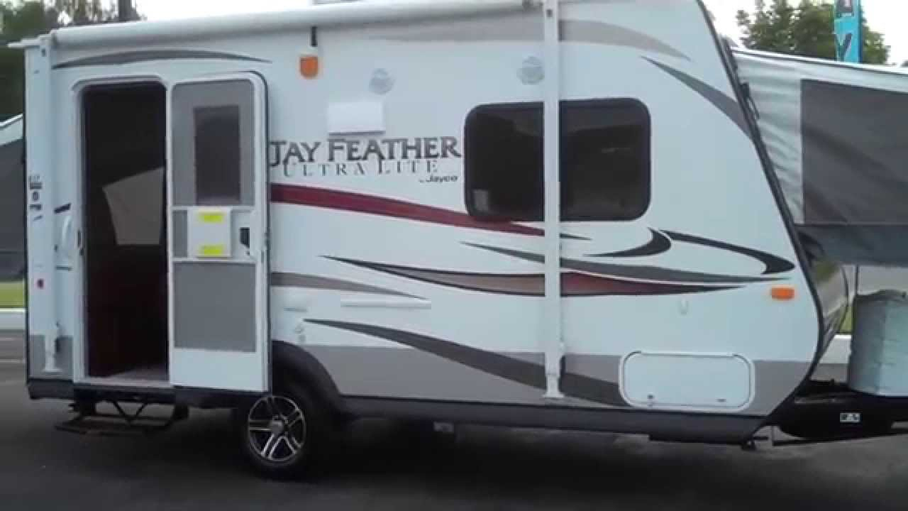 Jayco Rv 2017 Jay Feather Ultra Lite X17z Hybrid Travel Trailer At Valley Supercenter