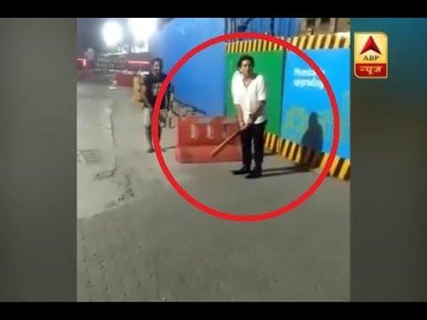 Sachin Tendulkar's video of playing cricket in a Bandra street GOES VIRAL