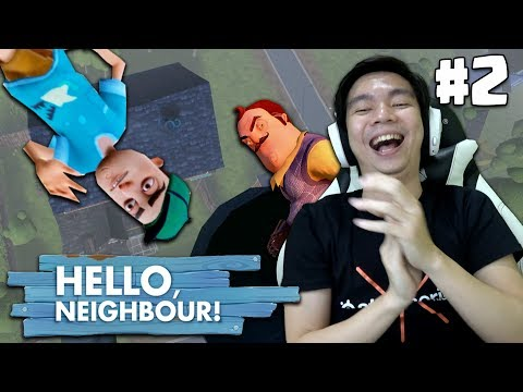 Cara Terkeren buat Kabur - Hello Neighbor Indonesia (Act 2 End)