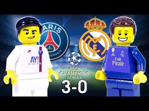 LEGO PSG 3 - 0 Real Madrid Champions League 2019 / 2020