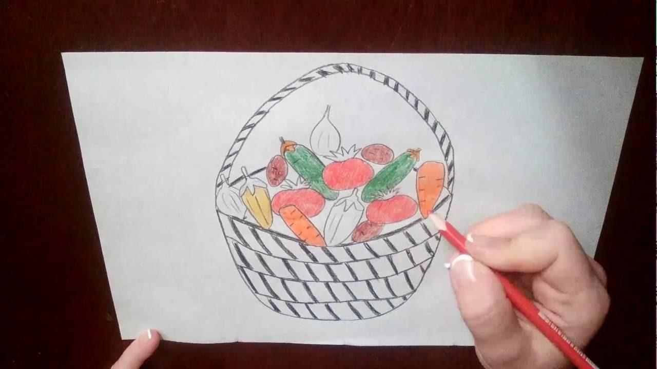 Как сделать корзину для овощей своими руками