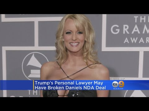 Porn Star Stormy Daniels Says She Feels Free To Discuss Trump Encounter