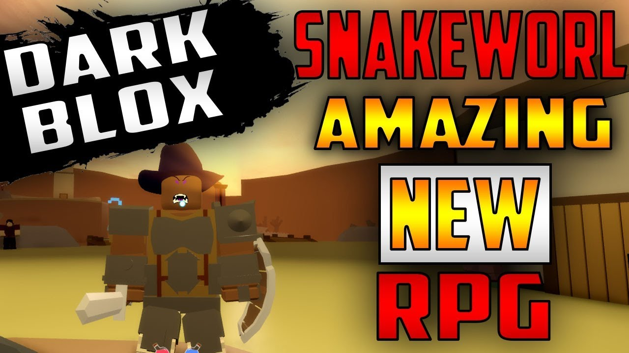 Good Rpg Games On Roblox Snakeworl S Amazing New Rpg Game The Next Best Game On Roblox Dark Blox Youtube