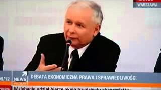 Jarosław Kaczyński: prawo jest dla prawników, a nie dla obywateli.