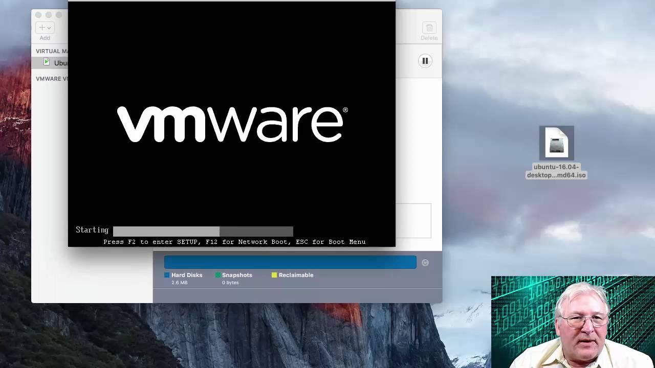 Install Ubuntu 16 04 Desktop in VMWare Fusion 8 for Mac