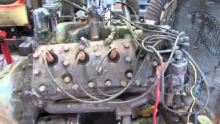 337 Ford 8EQ Flathead Engine Startup