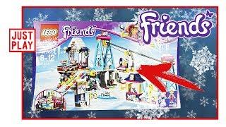 LEGO FRIENDS Горнолыжный курорт подъёмник СОБИРАЕМ И ДЕЛАЕМ МУЛЬТИК