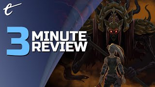 Morbid: The Seven Acolytes | Review in 3 Minutes (Video Game Video Review)