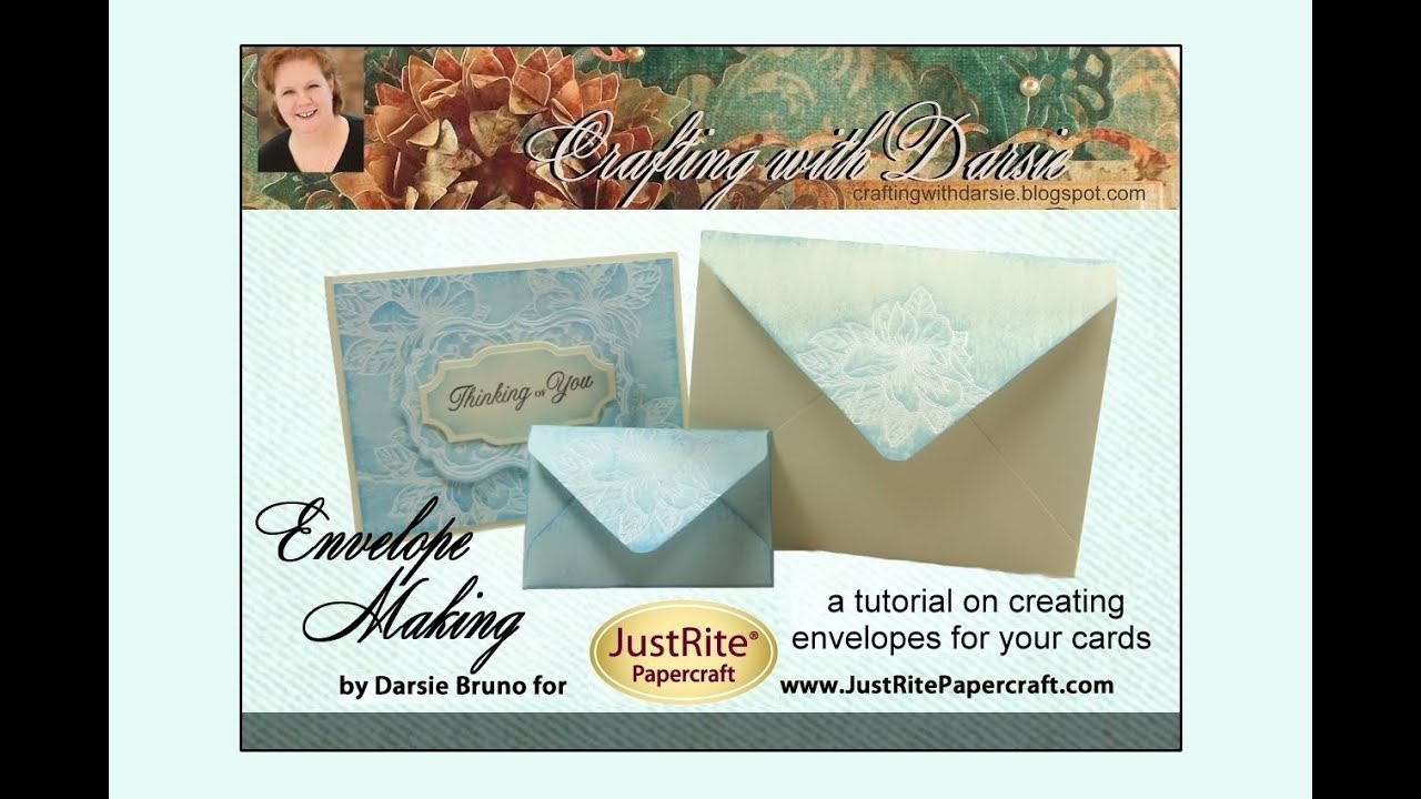 Tutorial Tuesday Create Custom Envelopes with Darsie Bruno With Regard To Recollections Cards And Envelopes Templates
