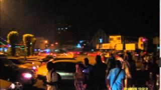 Immeuble de la mort, SNI, Cathedrale, Score: Yaounde a la tombee de la nuit