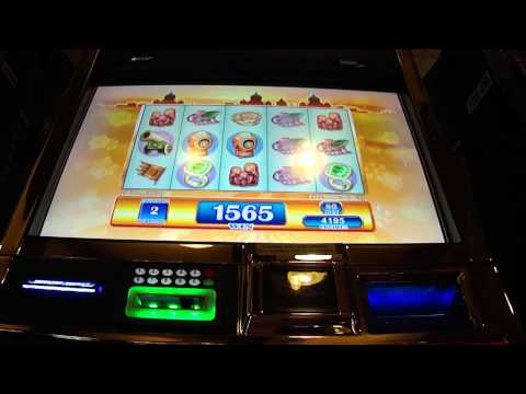 St Petersburg slot machine bonus win