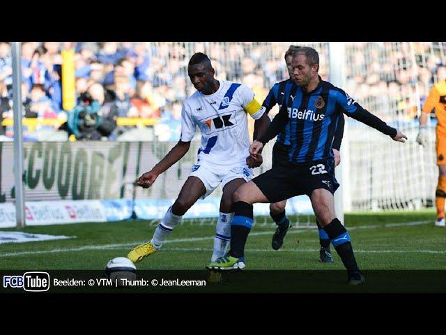 2012-2013 - Jupiler Pro League - 24. Club Brugge - AA Gent 0-0
