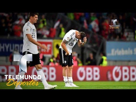 "Los ""achaques"" de Alemania previo a Rusia 2018   Copa Mundial FIFA Rusia 2018   Telemundo Deportes"