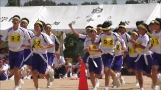 平成28年度 小野市立旭丘中学校  旭ンピック2016 9年生演技