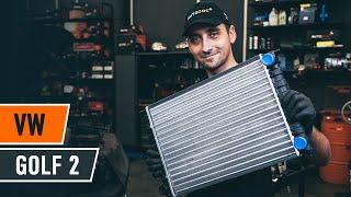 Hur byter man Kylmodul VW GOLF II (19E, 1G1) - videoguide