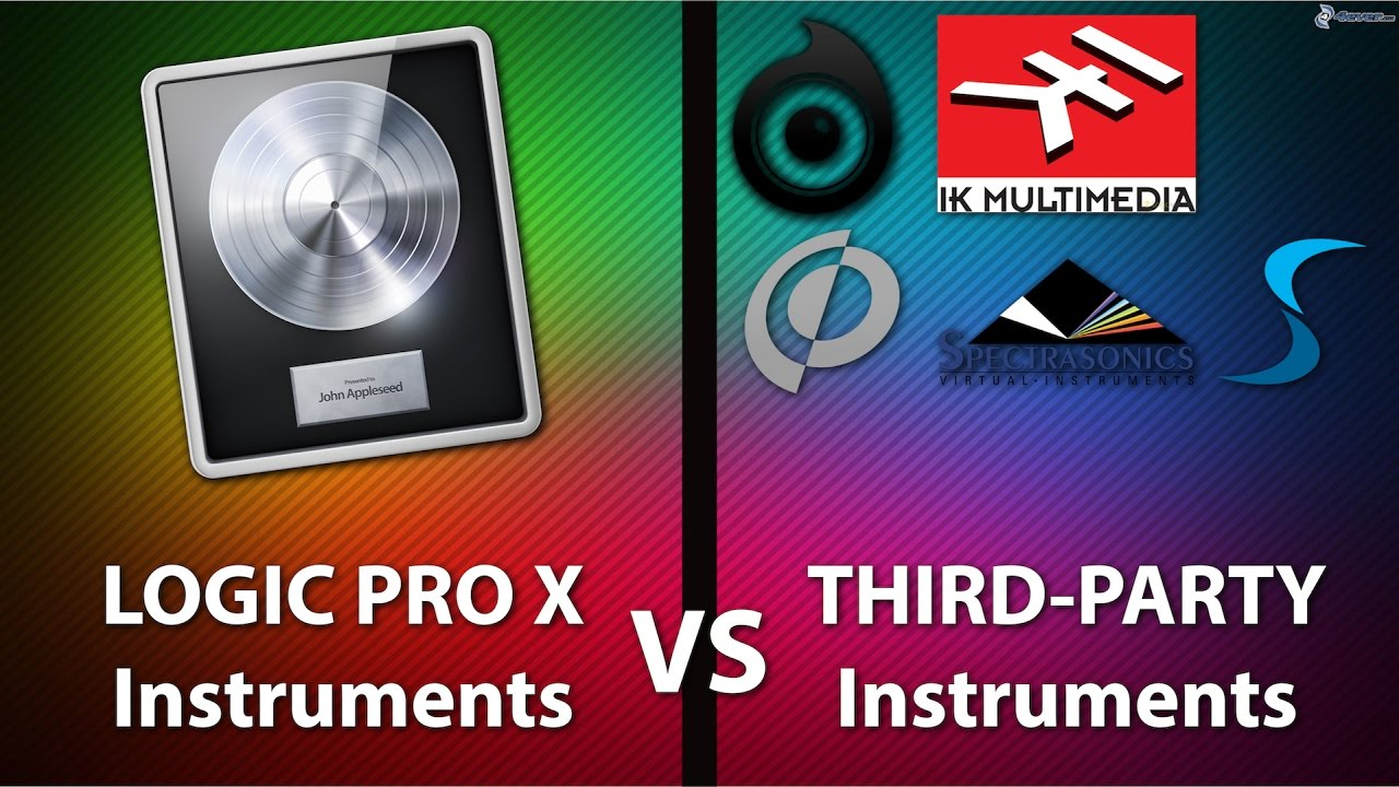 What Sounds Better? Logic Pro X Stock Instruments vs Third Party Instruments