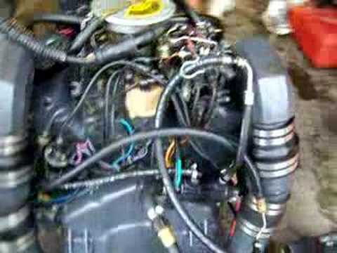 Sold Omc Cobra 4 3 Liter Boat Motor Youtube