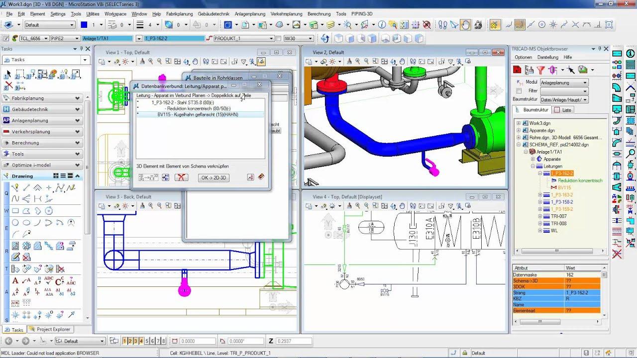 Process Piping Design Software