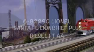 Lionel 6-82290 Santa Fe LionChief Plus