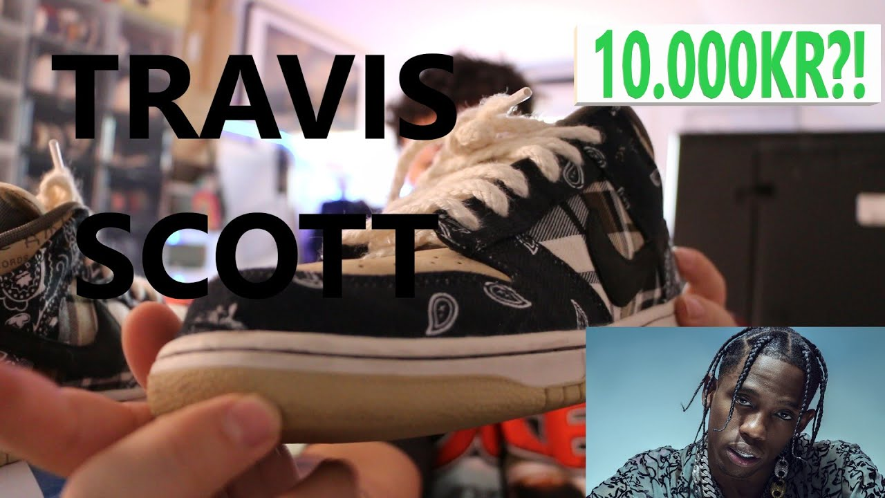 Nike Travis Scott SB Dunks, värt 10.000kr?