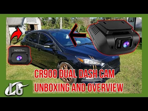 Crosstour CR900 Front And Rear Dash Cam Unboxing And Overview
