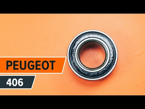 How to replace Front wheel bearing on PEUGEOT 406 TUTORIAL | AUTODOC