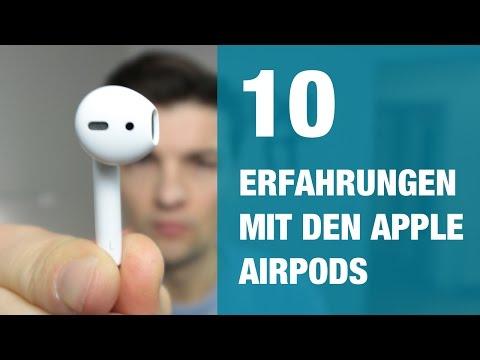 10 Erfahrungen mit den Apple AirPods!