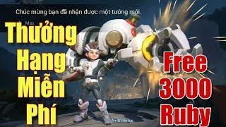 [Gcaothu] Max Quang Vinh trang phục miễn phí mùa 13 và free 3000 Ruby toàn sever