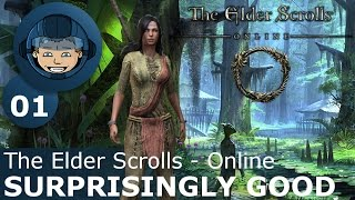 SURPRISINGLY GOOD - ESO: Ep. #1 - The Elder Scrolls Online 2017 Gameplay