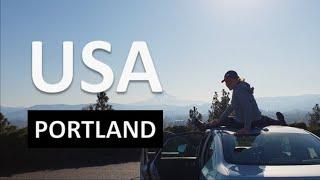 Путешествие в США зимой | гора Mounthood | штат Орегон Портленд / Видео