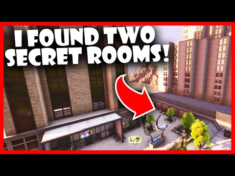 I Found Two Secret Rooms In The NEW Fortnite Creative Hub!