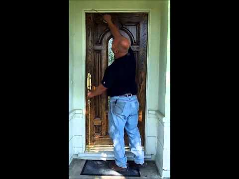How To Measure For A New Screen Door...