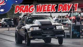 Aussies at Drag Week 2019 - Day One