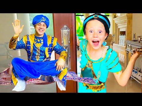 Настя и музыкальное видео для детей про Принцесс
