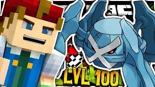 Minecraft   LEVEL 100 OP METAGROSS?! - Pokemon Craft
